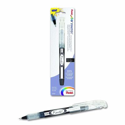 PLSD98PABPA 	Pentel FINITO! Porous Point Pen, X-tra Fine Point Tip, Black Ink, 1-Pk