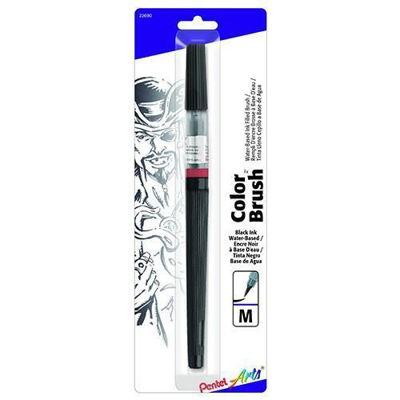 PLGFLBP101 Pentel Color Brush Water-Based - Black