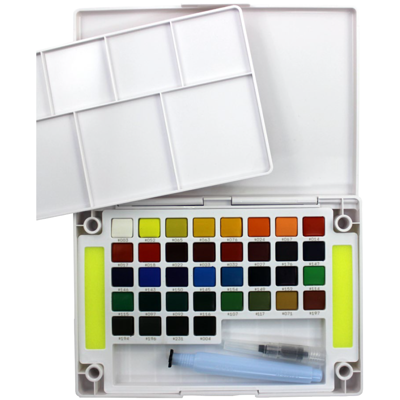 SKXNCW-36N Sakura Koi Water Color Pocket Field Sketch Box- 36 Colors