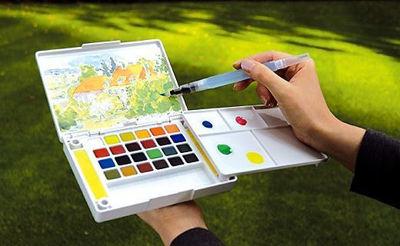 Sakura Koi Water Color Pocket Field Sketch Box