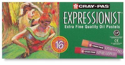 SKXLP16 Sakura Cray-Pas Expressionist 16 Pc Set - 16 Colors