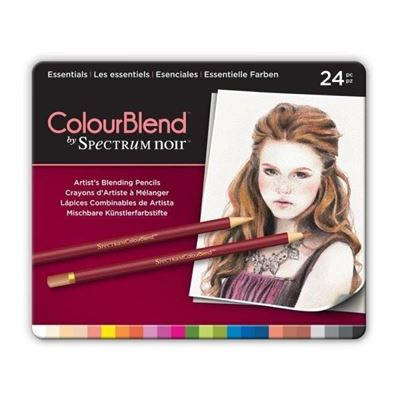 CCSPECCB-ESS24 Spectrum Colourblend Pencils Essentials 24pc