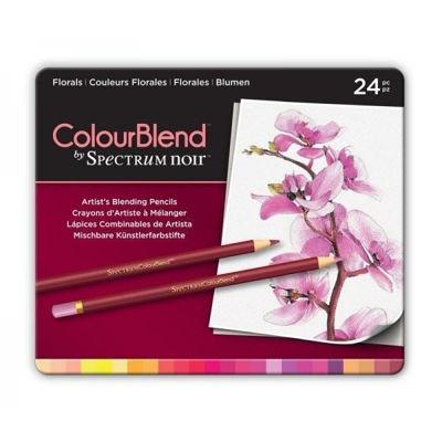 CCSPECCB-FLO24 Spectrum Colourblend Pencils Florals 24pc