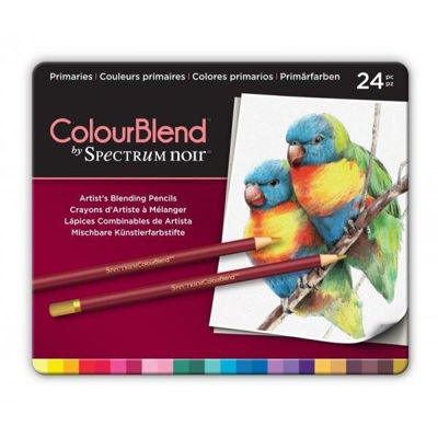 CCSPECCB-PRI24 Spectrum Colourblend Pencils Primaries 24pc
