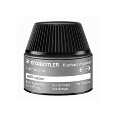 MS48851-9 Staedtler Lumocolor Flipchart Refill Ink Non Perm 356 Series 30ml- Black