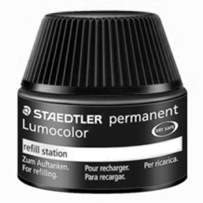 MS48850-9 Staedtler Permanent Lumocolor Permanent Marker Refill Ink