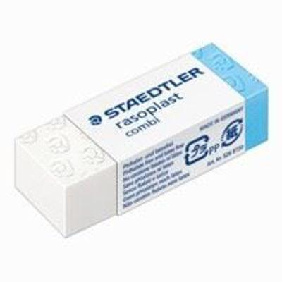 MS526BT30 Staedtler Eraser Rasoplast Combi 43X19X13MmMS526508 Staedtler Plastic Combi