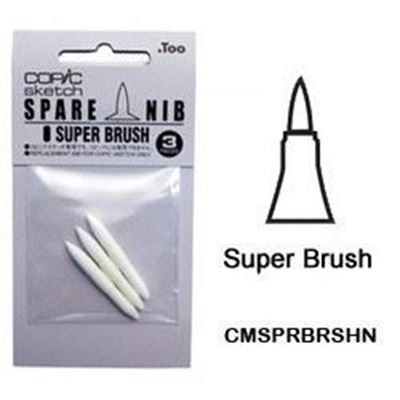 CMSPRBRSHN Super Brush Nib 3pk