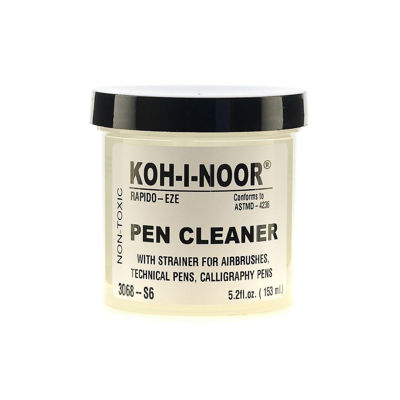 ko-koh-i-noor-rapido-eze-pen-cleaning solution-with-strainer-5.2-oz