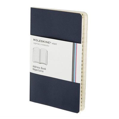 Moleskine Volant Address Book Black Pocket