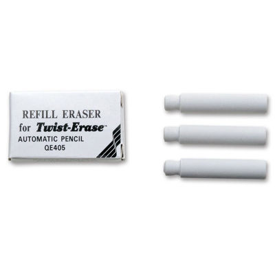 Pentel E10 Refill Eraser For Twist-Erase 3pcs