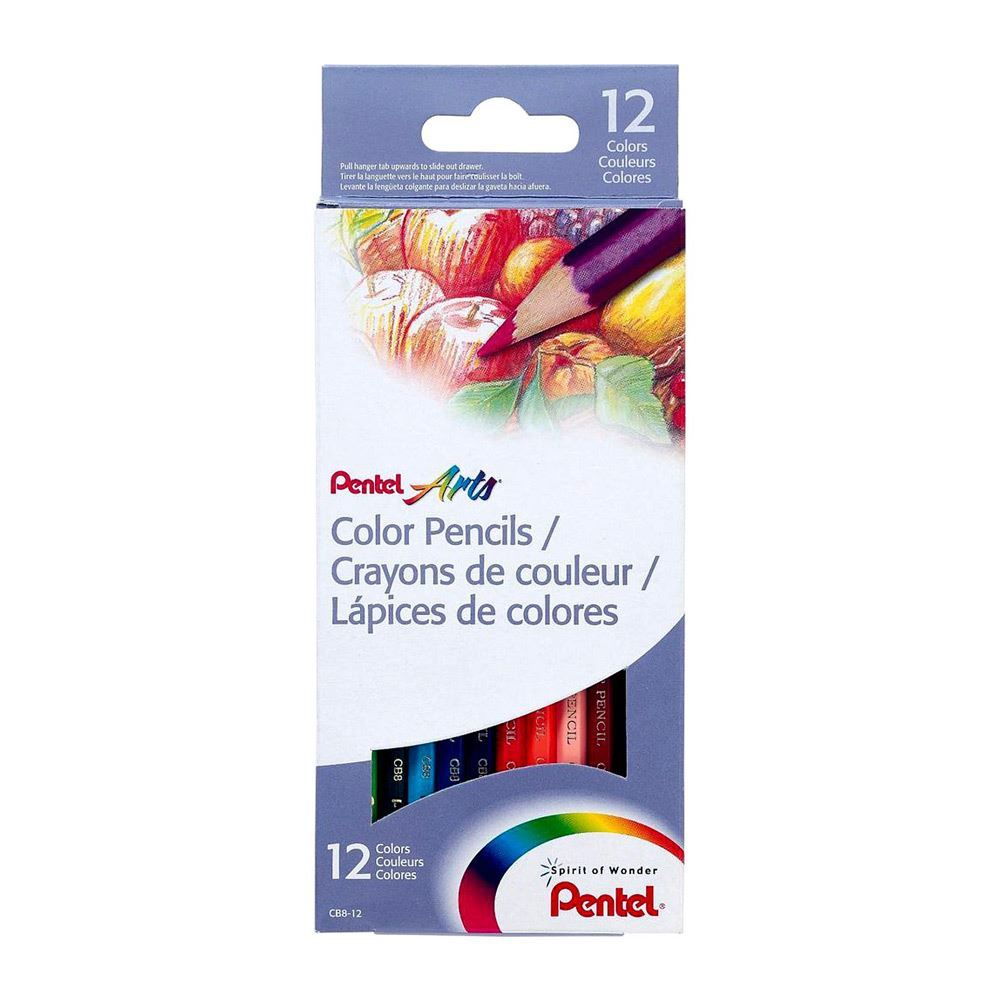 12 color set PENTEL WATERCOLOR PENCILS