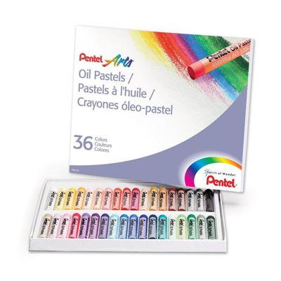 Pentel Arts Oil Pastels - 36 Color Set