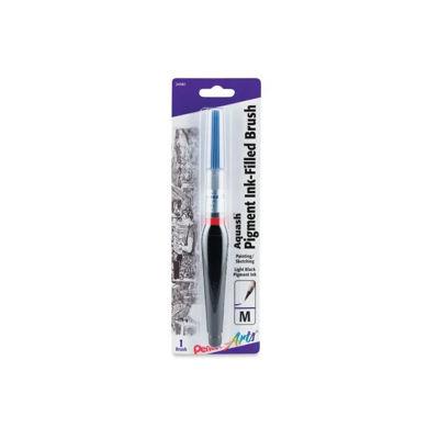 Pentel Aquash Brush - Light Black - Pigment Ink
