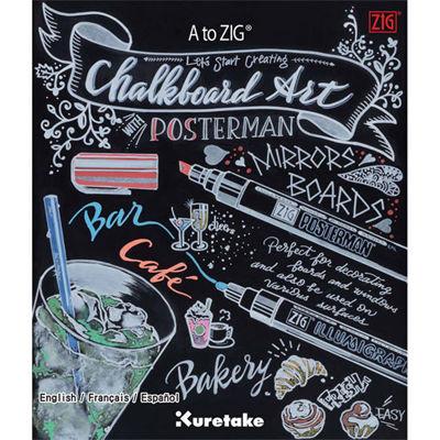 Zig Wet Wipe Chalkboard Art